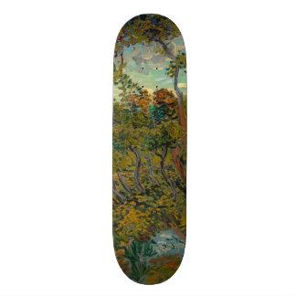 Sunset at Montmajour by Vincent Van Gogh Skate Boards