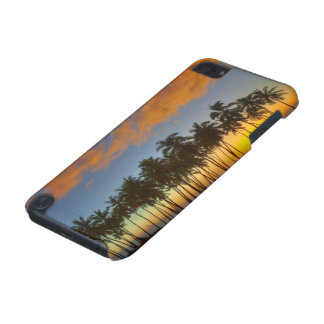 Sunset at National Historic Park Pu'uhonua o iPod Touch 5G Covers