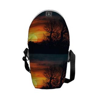 Sunset at Nature Landscape Commuter Bags