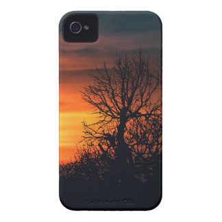 Sunset at Nature Landscape Scene Case-Mate iPhone 4 Cases