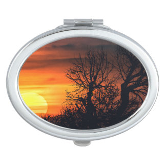 Sunset at Nature Landscape Vanity Mirrors