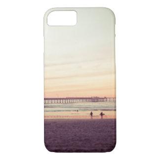 Sunset at Ocean Beach, California iPhone 7 Case
