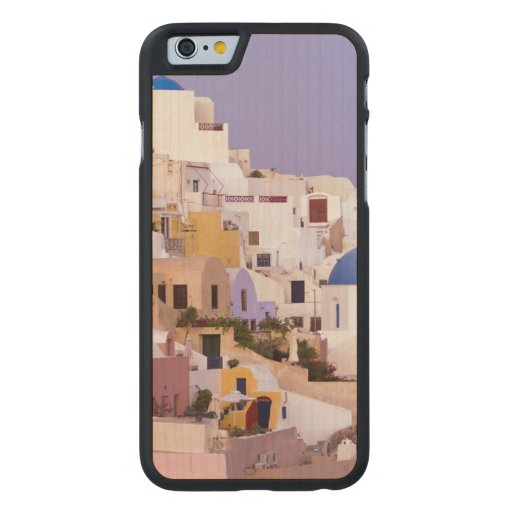 Sunset at Oil, Santorini 2 Carved® Maple iPhone 6 Case