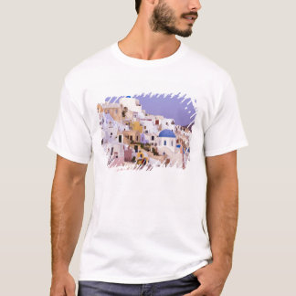 Sunset at Oil, Santorini 2 T-Shirt