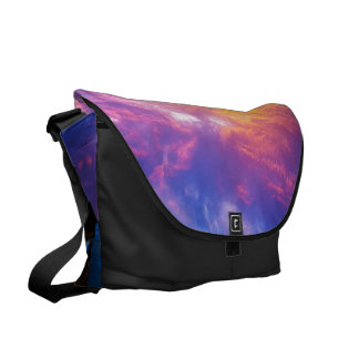 Sunset at Paradise Bay Messenger Bags