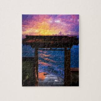 Sunset at Paradise Bay Puzzles