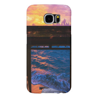 Sunset at Paradise Bay Samsung Galaxy S6 Cases