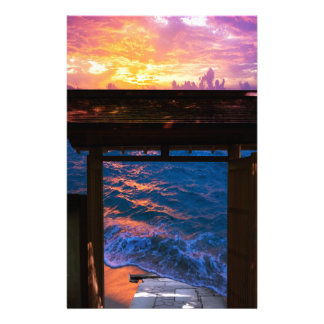 Sunset at Paradise Bay Stationery