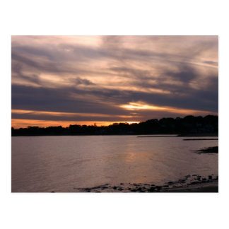 Sunset at Sherwood Island Postcard