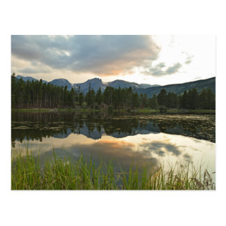 Sunset at Sprague Lake - Rocky Mountain Nat'l Park Postcard