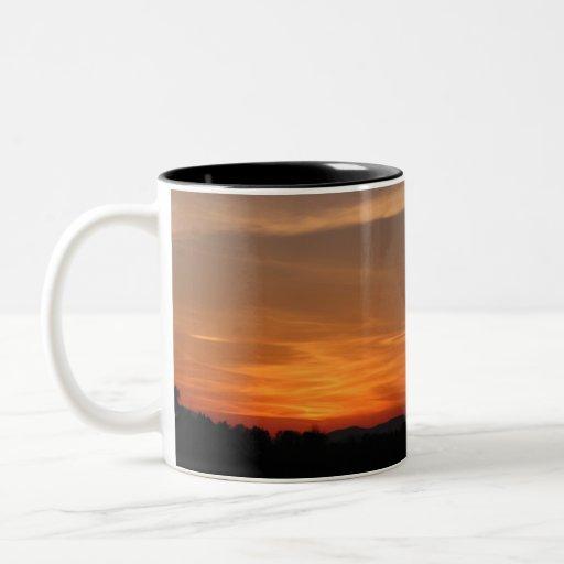 Sunset at the Airport (2) Mug