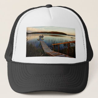 Sunset at the Bay Trucker Hat