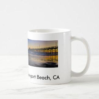 Sunset at the Beach Basic White Mug