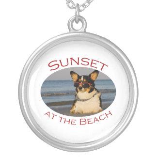 Sunset at the Beach Pendant