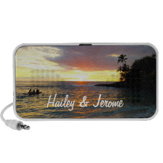 Sunset at the Beach PC Speakers