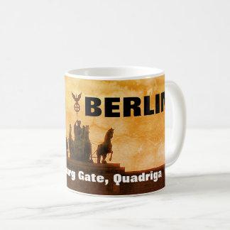 Sunset at the Brandenburg Gate, Berlin Coffee Mug