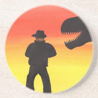 Sunset At The Dinosaur Ranch Coaster