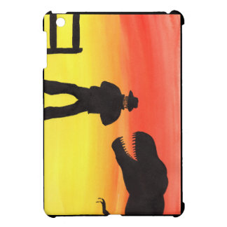 Sunset At The Dinosaur Ranch iPad Mini Covers