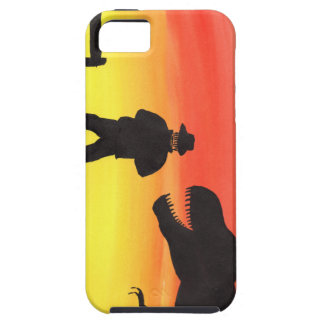 Sunset At The Dinosaur Ranch iPhone 5 Cover
