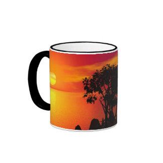 Sunset At The Lake Mug