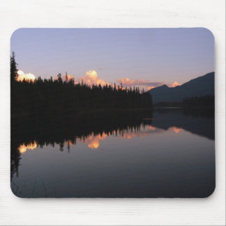 Sunset at the Mosquito Lake, British Columbia Mouse Pad