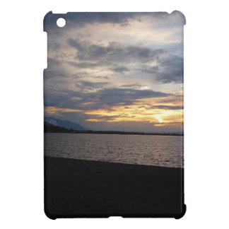 Sunset at the shore iPad mini covers