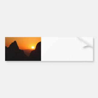 Sunset at the Window Bumper Sticker