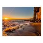 Sunset at Victoria Beach 2 Postcard