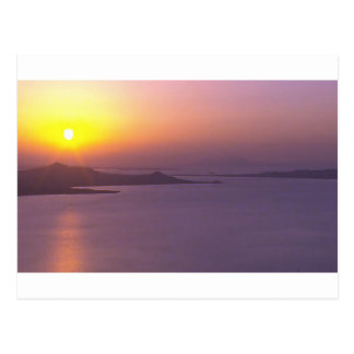 SUNSET background  add NAME  QUOTE PHOTO Postcard