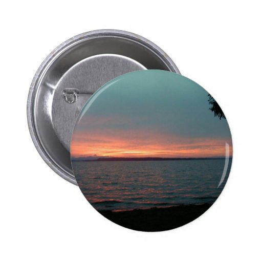 Sunset Pinback Buttons