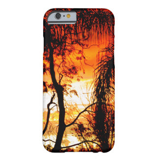 sunset barely there iPhone 6 case