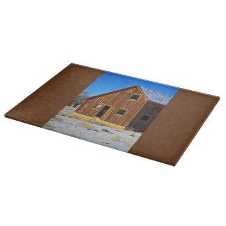 Sunset Barn Cutting Board Western Barns