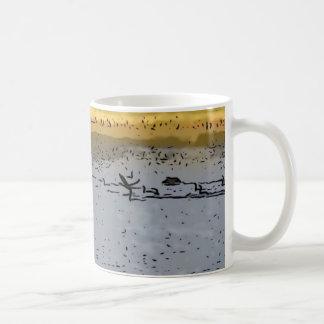 Sunset Basic White Mug
