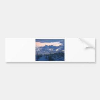 Sunset Beach Bumper Sticker