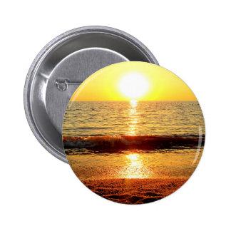 Sunset beach, Cape May NJ 6 Cm Round Badge