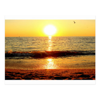 Sunset beach, Cape May NJ Postcard