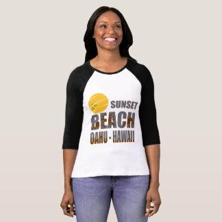 SUNSET BEACH OAHU HAWAII T-Shirt