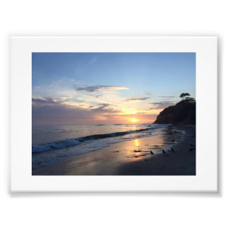 Sunset beach photograph