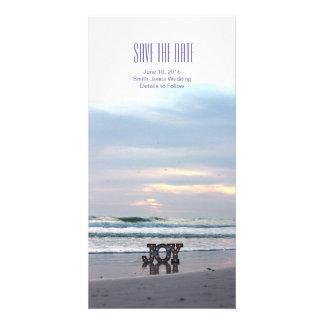 Sunset Beach Save the Date Photo Card