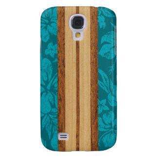 Sunset Beach Surfboard Hawaiian Galaxy S4 Cases