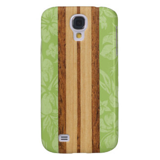 Sunset Beach Surfboard Hawaiian Samsung Galaxy S4 Covers