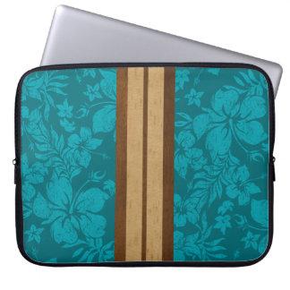 Sunset Beach Surfboard Neoprene Wetsuit Laptop Sleeve