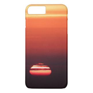 sunset beach vacation orange red ombre gradient iPhone 7 plus case