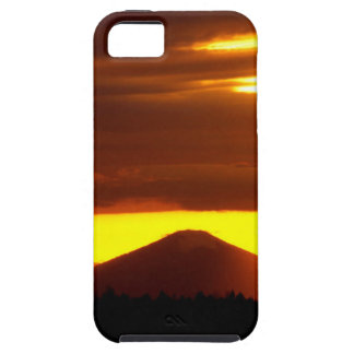 Sunset Black Butte Oregon iPhone 5 Covers