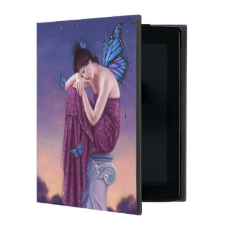 Sunset Blue Monarch Butterfly Fairy Case For iPad