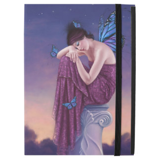 Sunset Blue Monarch Butterfly Fairy iPad Pro Case
