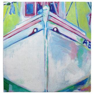 Sunset Boat Napkin