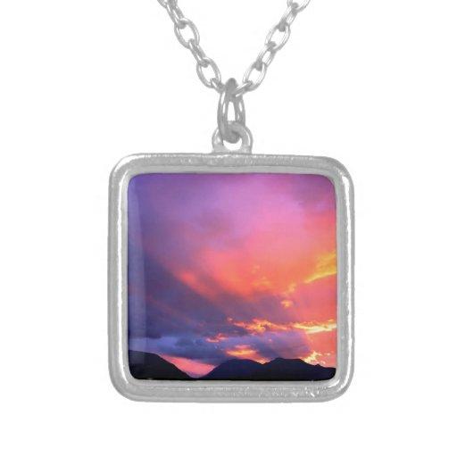 Sunset Break The Clouds Pendant