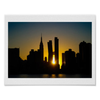 Sunset Breakthrough Poster