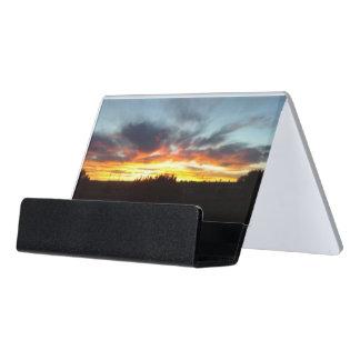Sunset Business Card Holder